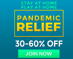 Pandemic Relief: 30-60% OFF