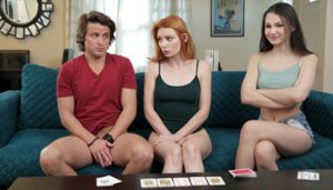 Strip Poker With Stepsiblings Lacy Lennon, Liz Jordan